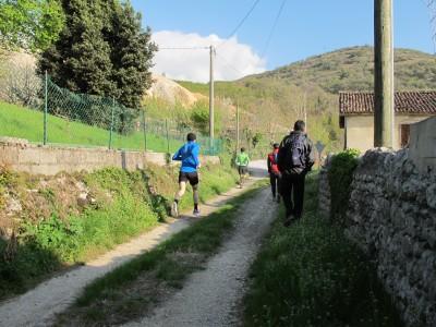 Trail del Patriarca, Villa di Villa