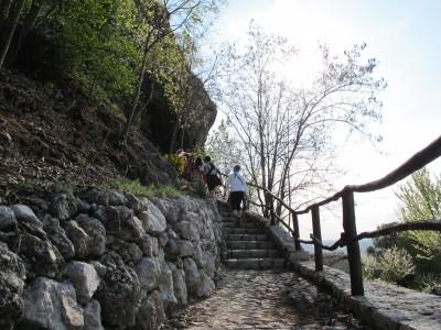 Trail del Patriarca, Madonna dei scalìn