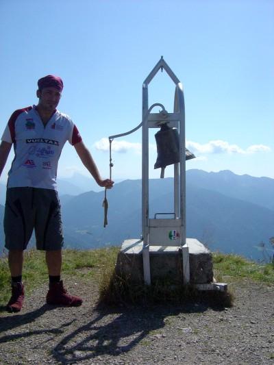 La campana sulla cima del Monte Talm!