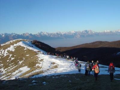 Lungo tratto di sali-scendi tra Malga Mariech e Malga Garda.