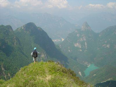 Uno sguardo verso Val Gallina.