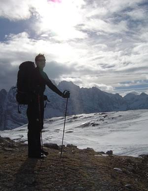 Quattro passi sul fronte italiano del Monte Piana.
