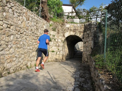 Trail del Patriarca, Stevenà