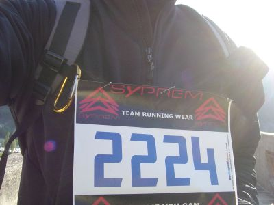 Eccoci, numero al petto e zaino in spalla, pronti per i 17 km!