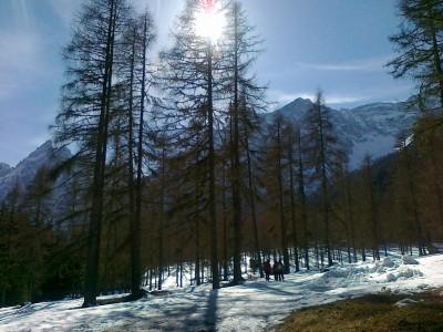 Vedute da favola in Val Fiscalina, ad appena quindici minuti da Moso.