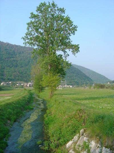 La Valsana e' ovviamente gia' bella di suo... Ma non va dimenticato che il fiume Soligo qui nasce e scorre, accompagnando il ciclista, e chi passeggia, con la sua dolce musica.